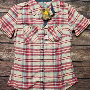 Nwt Carhartt button up